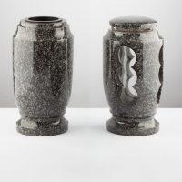 Žulový komplet lampa + váza